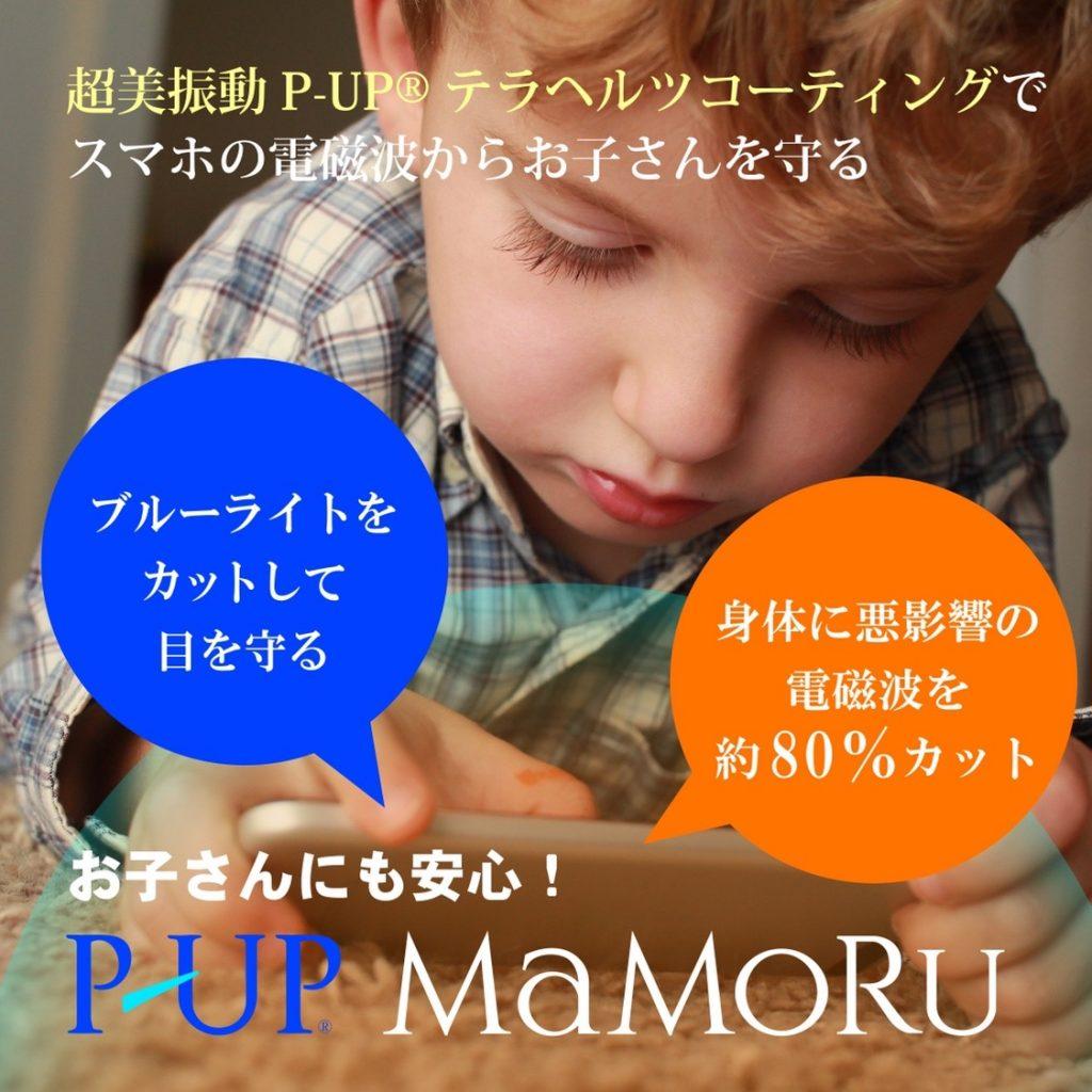 P-UP MaMoRu テラヘルツコーティング!?